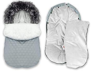 Winter 85 cm Schlitten Footmuff Kinderwagensack Winterfu/ßsack Wasserabweisend Schlafsack Wasserdicht BlueKitty Fu/ßsack 0-13 kg