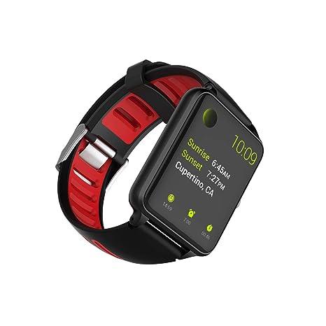 PRIXTON SWB24 - Smartwatch con Pulsómetro Rojo