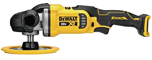 DEWALT DCM849B 20V MAX XR 7 in 180mm Cordless Variable Speed Rotary Polisher Tool Only