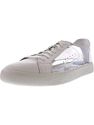 finest selection 45657 217d0 PUMA Men's Clyde Clear Sm Ankle-High Fashion Sneaker