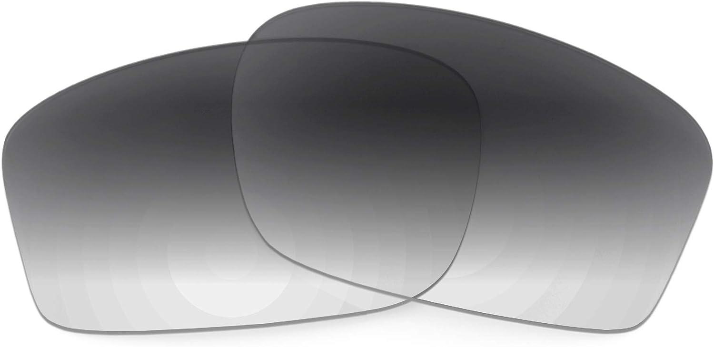 Revant Verres de Rechange pour Oakley Chainlink - Compatibles avec les Lunettes de Soleil Oakley Chainlink Dégradé Gris - Non Polarisés