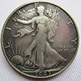 1923-S Walking Liberty Half Dollar Coins COPY