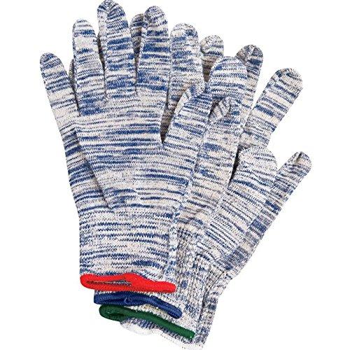 (SSG Blue Streak Flex Fit Roping Glove Bundle - Medium)