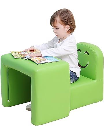 Mesa y silla para niños Emall multifunción con diseño de