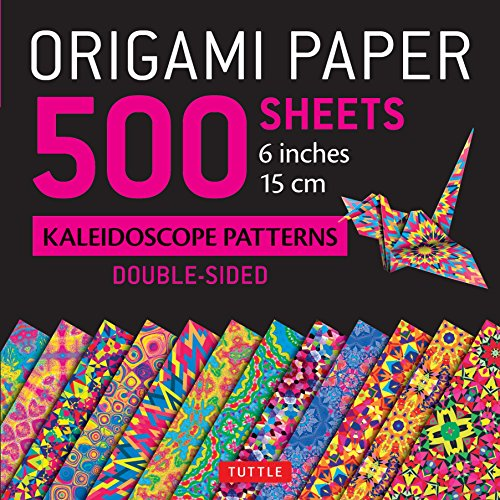 - Origami Paper 500 sheets Kaleidoscope Patterns 6