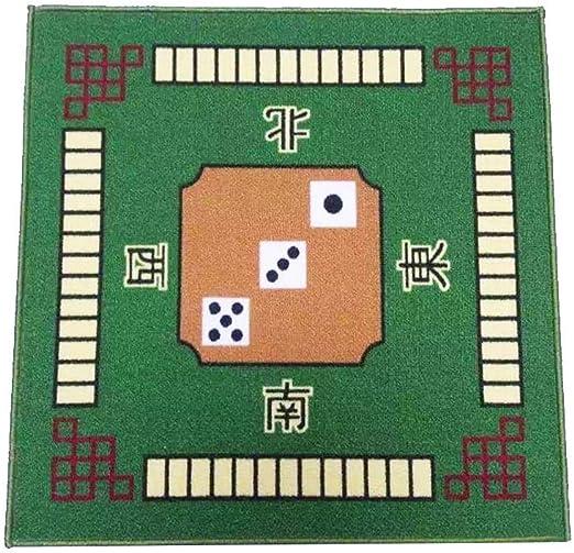 Mahjong - Juego de mesa de juego con tapete cuadrado para Poker ...