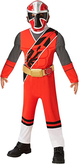 Amazon.com: power rangers Ninja Acero disfraz 5 – 6 años ...