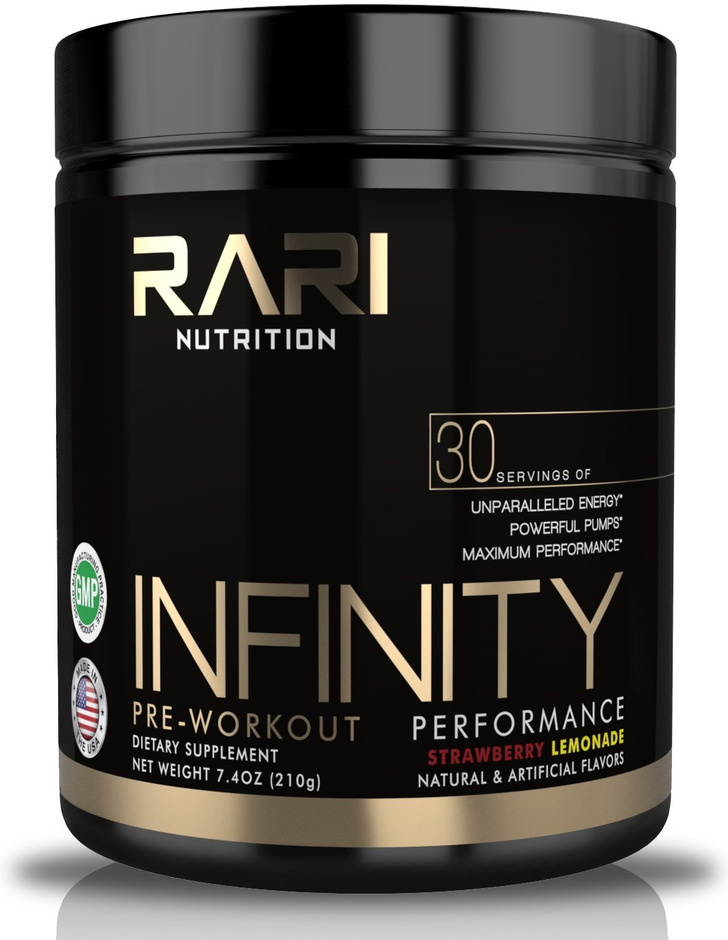 RARI Nutrition - INFINITY 3-in-1 Pre Workout Powder