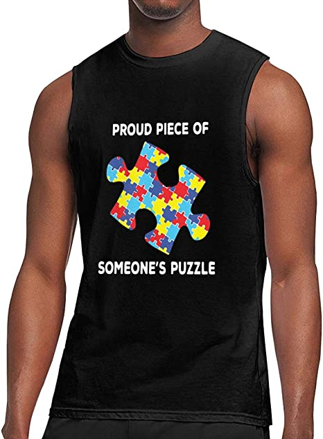 Amazon.com: Proud Piece of Someone's Puzzle Autism ...