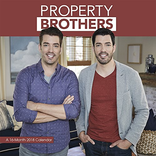 Property Brothers 2018 Wall Calendar