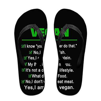 d64e3b3a4bfc Amazon.com  XinHuii Funny Vegan I Am Still A Vegan Mens Womens Thong ...