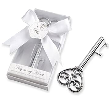 Neuheit Schlüssel Zu Meinem Herzen Stil Flasche Rotwein Opener Hochzeit  Danke Geschenke Für Gäste