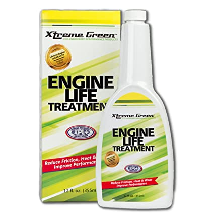 Xtreme Green Engine Life Treatment - Turns Motor Oil into Super Motor Oil - Increase Power