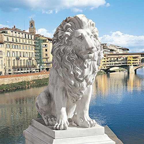 - Design Toscano KY71134 Lion of Florence Statue