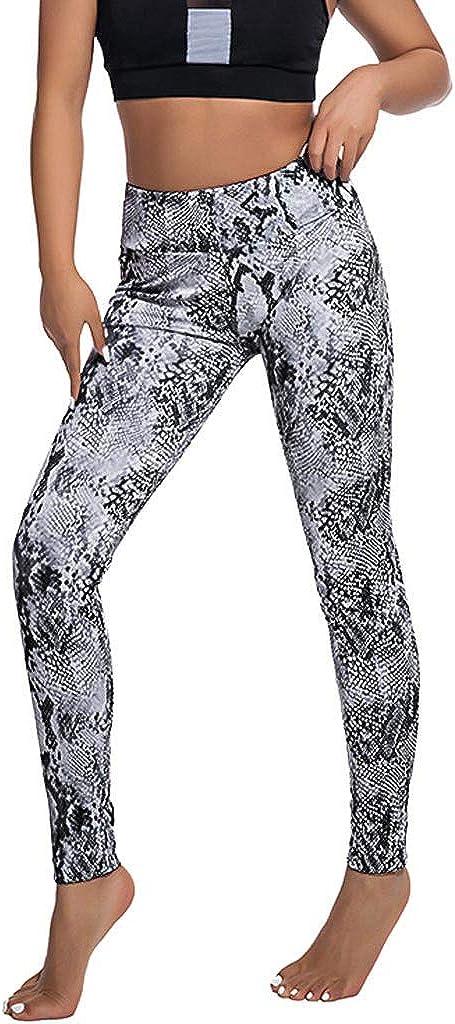Leggings Reductores Pantalones Adelgazantes Deportivos Yoga Leggings de Mujer,Casual Serpentina Alta Cintura Leggings Serpentine Mujeres Yoga Pantalones Malla Cuero Leggins Quema Grasa