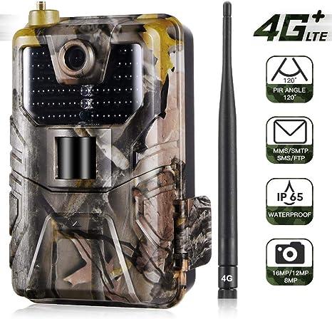 BESTSUGER Juego de la cámara, Celular Conectividad 4G LTE Caza ...