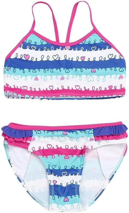 MML - Conjunto de Bikini para bebé y niña, 2 Piezas, Corbata de ...
