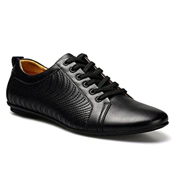 Beauqueen Herren Lederschuhe Business Casual Schuhe Komfortable Low-Top Lederschuhe (Größe : 40) cAJgYq2k