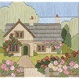 Rambling Rose Cottage - Tapestry Kit
