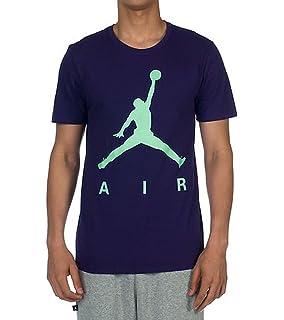60138b6e41d3 Jordan Nike Air Greatest On Earth T-Shirt 789627 063 grau  Amazon.de ...