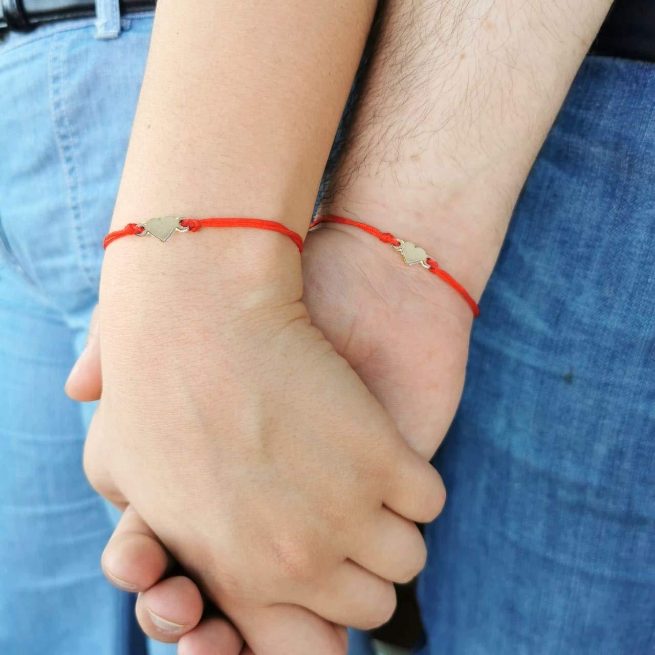 ejemplo de pulsera de hilo rojo