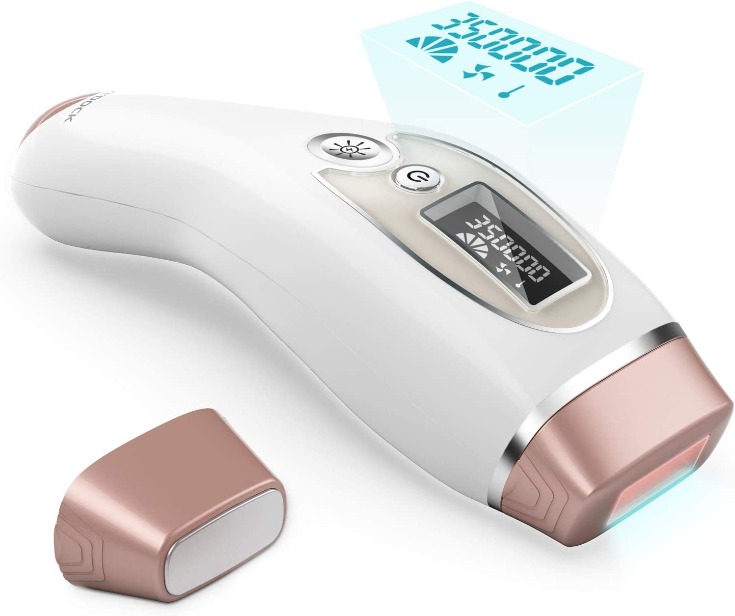 IPL Permanent Hair Removal, Laser Hair Removal for Women and Men,Home Use Painless Hair Remover Device for Facial and Whole Body