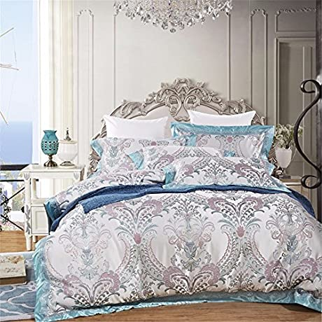 Pure Cotton Bedding 4 Piece Set Modern Comfort And Durability Duvet Cover Bedding Set King 6