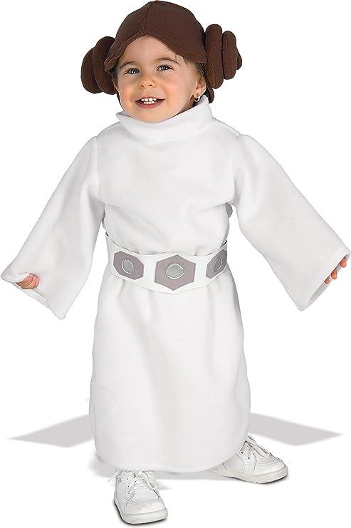 Star Wars Princess Leia Fleece Infant/Toddler Costume - Toddler - Kidu0027s Costumes  sc 1 st  Amazon.com & Amazon.com: Star Wars Princess Leia Fleece Infant/Toddler Costume ...