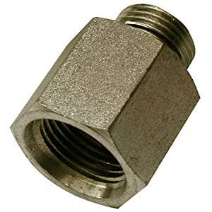 "Apache 39039074 5/8"" Male O-Ring x 1/2"" Female O-Ring, Hydraulic Adapter"
