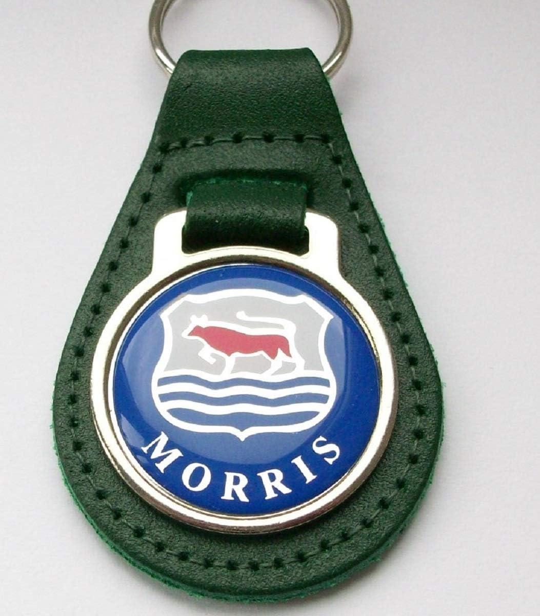 Porte-cl/és Morris en Cuir et Acrylique Vert