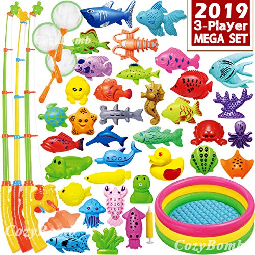 CozyBomB Magnetic Fishing Game Toys Mega Set