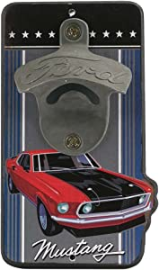 Ford Mustang Wall Bottle Opener
