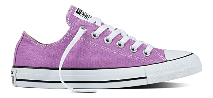 Converse Chucks All Star Low Top Sneaker Herren Violett (Fuchsia Glow)