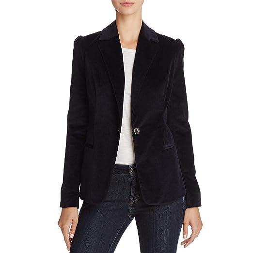 [BLANKNYC] Blank NYC Womens Office Wear Puff Sleeves Velvet Jacket