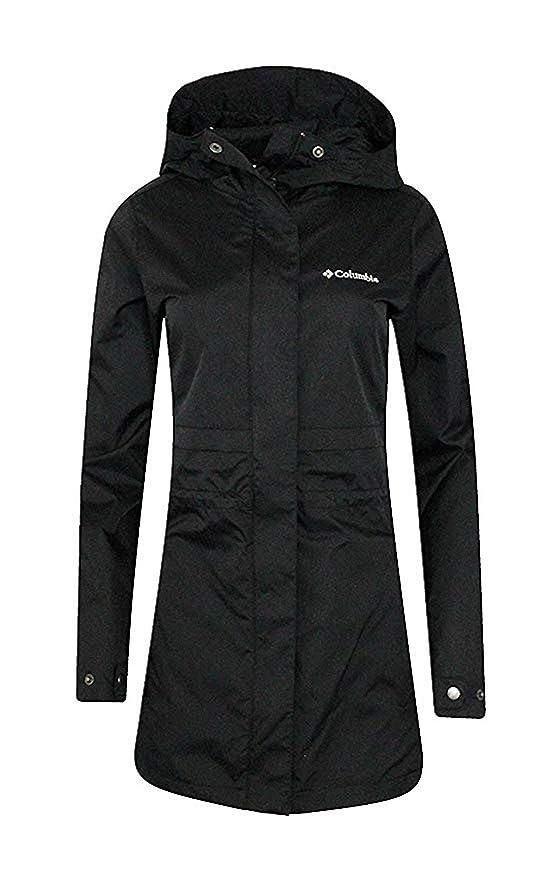 Columbia Womens Plus Shine Struck II Waterproof Mid Rain Jacket