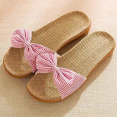 vendita a buon mercato nel Regno Unito dove acquistare nuovi arrivi WXMTXLM Pantofole estate Pantofole da ufficio femminile estate ...