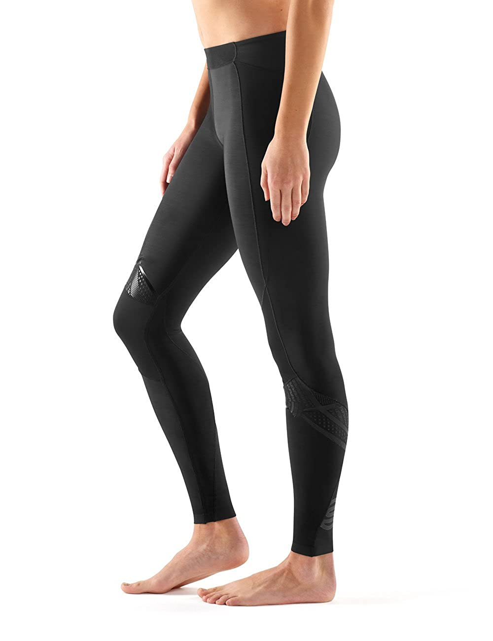 fff9916643 Amazon.com : Skins Women's A400 Compression Long Tights : Clothing