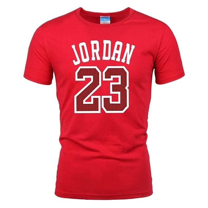 890a59fd30 Jordan 23 Print Men T-Shirt Cotton Jordan 23 Hip Hop Short Sleeve T Shirt