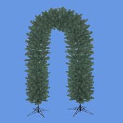 9 Double Door Archway Artificial Christmas Garland Unlit Amazon