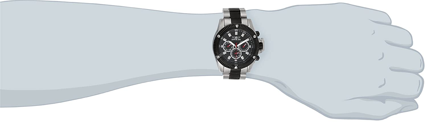 Invicta Men s 5715 Invicta II Collection Sport Stainless Steel and Black Watch
