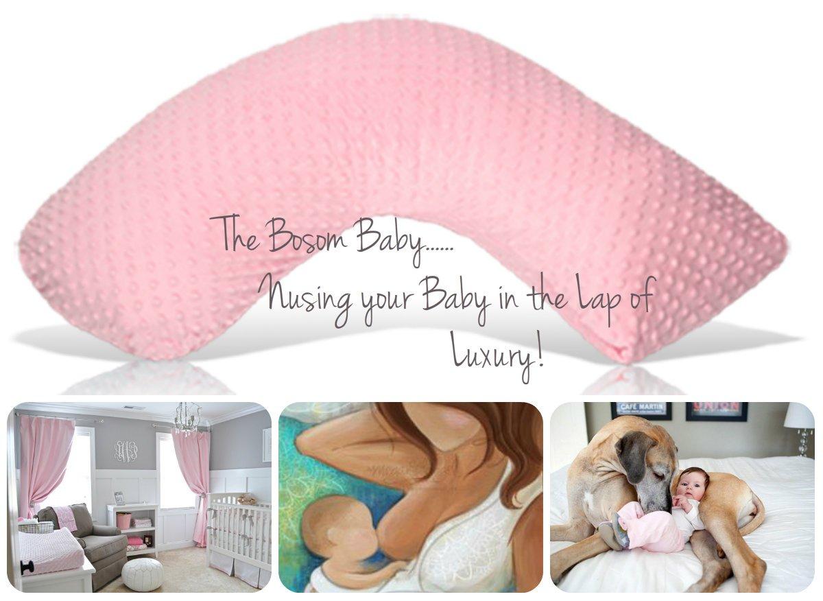 Amazon.com: Luna Lullaby Seno bebé cojín de lactancia, L ...