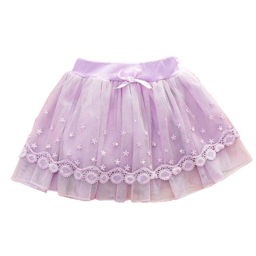 Free fisher-ragazze Flores Bowknot tutú falda de ballet, violeta ...