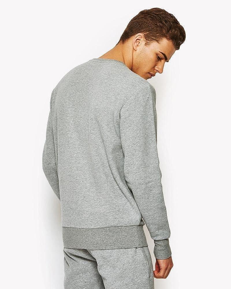 ellesse Succiso Sweatshirt/Pullover, für Herren Grau (Ath Grey)