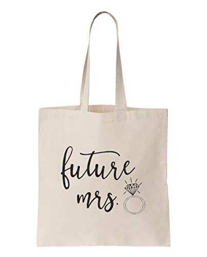 Shopping tote shopping bag bag for life future mrs bride to be