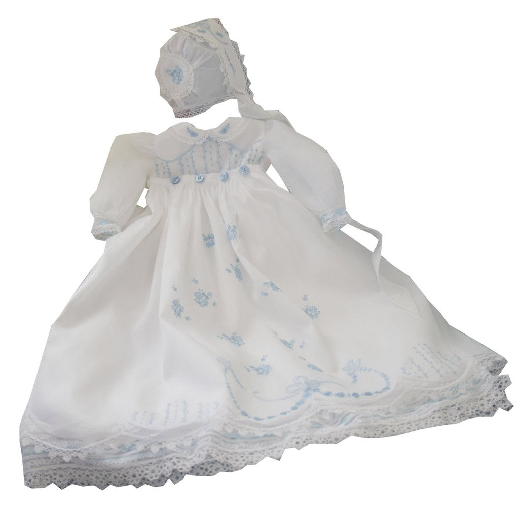 Kelaixiang Jewel Sweet Collar Christening Dress Chiffon Summer