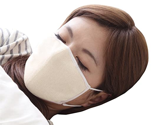 アルファックス 大判 潤いシルクのおやすみマスク(ポーチ付き) キナリ