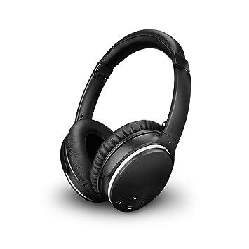 Auriculares Bluetooth YZCX Active Cancelación de Ruido Estéreo ANC Inalámbrico Headphones Orejas Plegables Sobre el Oído Control Remoto con Micrófono ...
