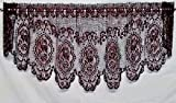 Cheap Cameo Rose Festoon Valance By Heritage Lace