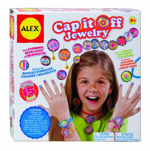 ALEX Toys Do-it-Yourself Wear Cap It Off - Party Favors Do It Yourself