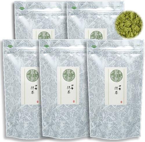 一の縁 抹茶 お抹茶 お薄 稽古用 お菓子用 料理用に (伊勢抹茶 500g(100g×5))